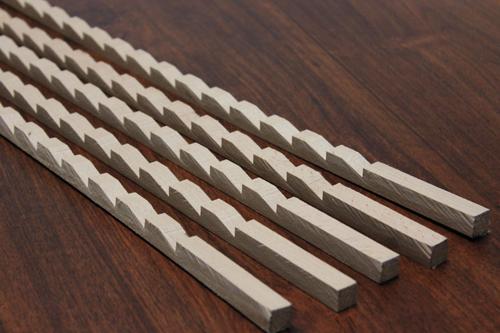 Roux la noblesse du bois - Comment poser une etagere ...